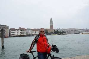 Venedig mit dem Fahrrad