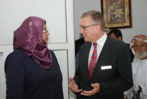 Minister Higher Eduation, Dr. Rawya Al-BusaidiOman