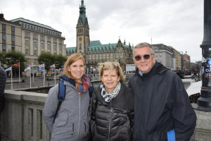 Mit Karoline in Hamburg