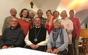 Familienrunde im Kloster Schlierbach