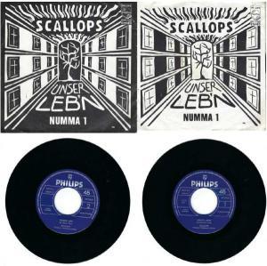 """Schallplatte """"Unser Leb´n"""" & """"Numma 1"""" erschienen bei Philips"""