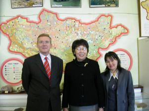 Universität Ulan Bator Mongolei 2003