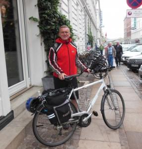 Radfahrt Berlin - Kopenhagen, Am Ziel in Kopenhagen