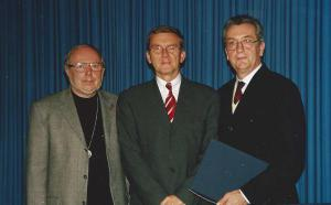 Gastprofessurverleihung an Univ.Prof. Dr. Ortner (Universität Paderborn) und Univ.Prof. Dr. Hermann Maurer (Technische Universität Graz)