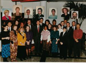 International Department Alcatel 1990