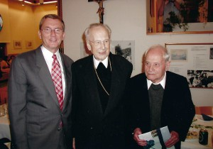 Kardinal Franz König und Pfarrer Dr. Franz Jantsch