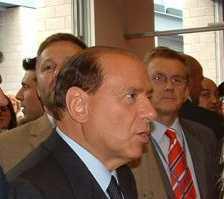 Premierminister Silvia BerlusconiBildungskonferenz 2003