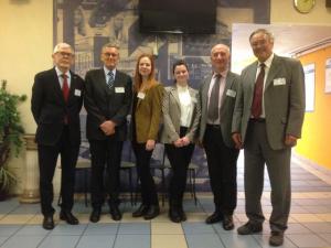Mit Kollegen der Saint-Petersburg State University of Economics Saint-Petersburg, Russia